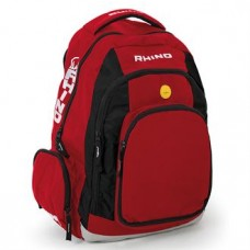 Rhino backpack - red