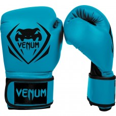 "Venum ""Contender"" Boxing Gloves - Blue- 10oz"