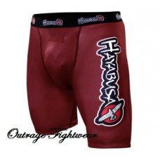 Hayabusa Haburi Compression Shorts - Red