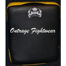 Top king Kicking-shield-double-handles-black-with-Yellow