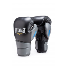"Everlast Evergel Protex""2 Training Gloves Black/Grey-Everlast-16oz"