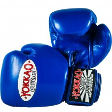 YOKKAO Matrix Blue Boxing Gloves