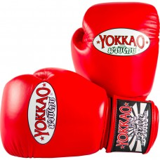 YOKKAO Matrix Red Boxing Gloves