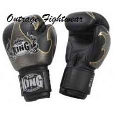 "Top King ""Empower Creativity"" Boxing Gloves Black/Silver"
