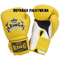 "Top King ""Super Air""  Boxing Gloves - YELLOW"