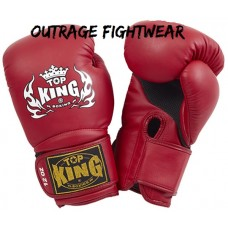 Top king super-air-boxing-gloves-Red-10oz