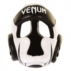 Venum Challenger 2 Adult Head Guard Black/White