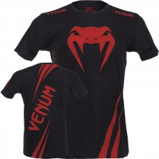 "Venum ""Challenger T-Shirt - Black/Red"