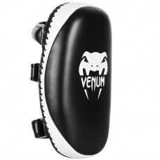 Venum Light Thai Kick Pads - Black/ White